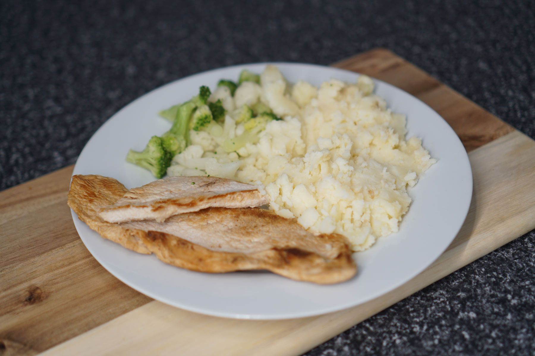Garlic Turkey & Mash