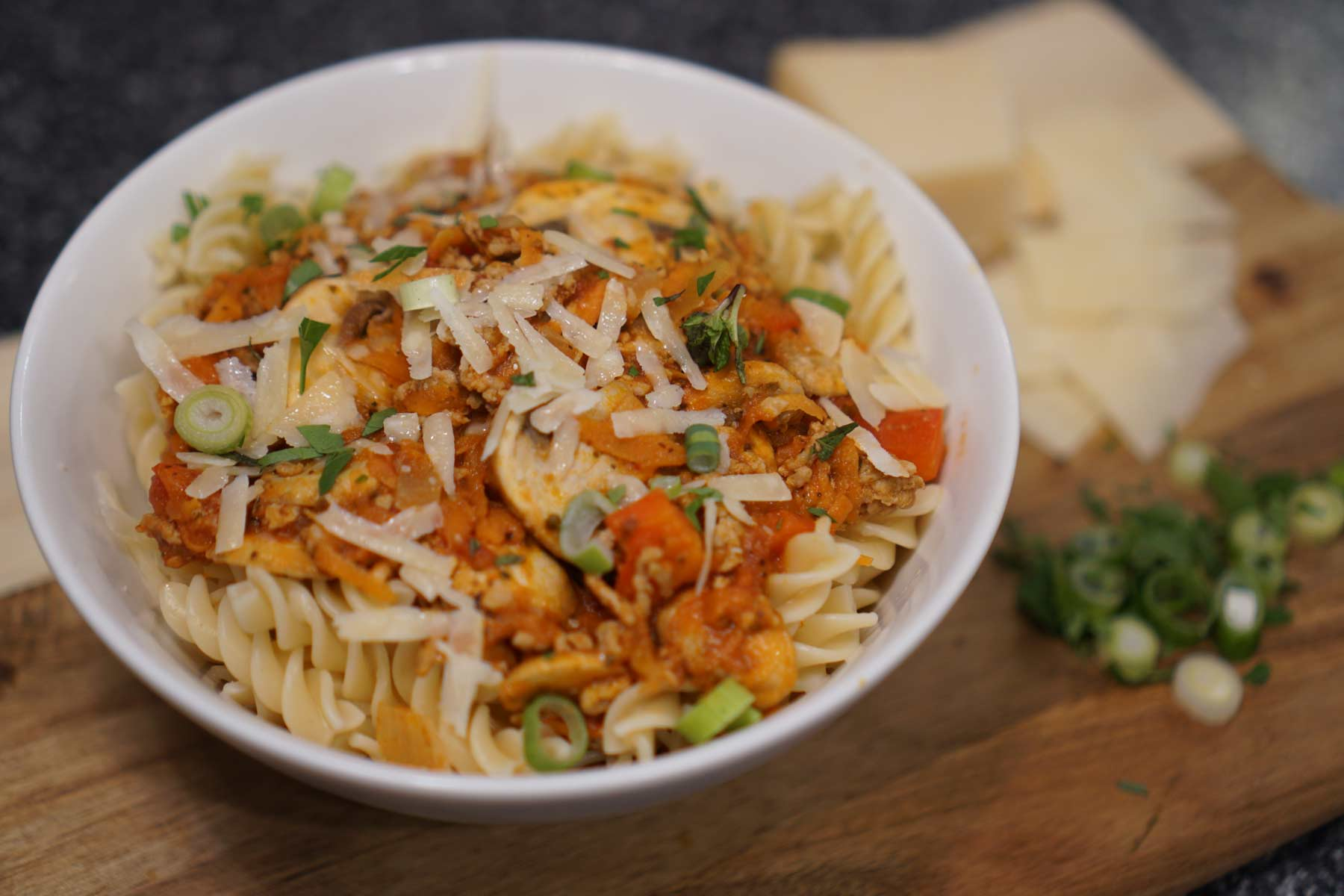 Pasta Bolognese With Hidden Vegetables